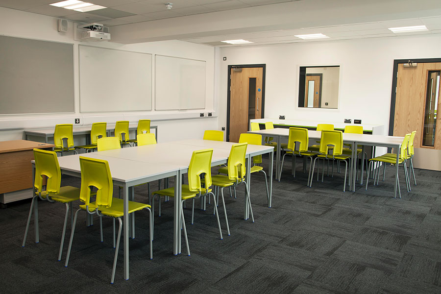 SE Classroom chairs by Hille
