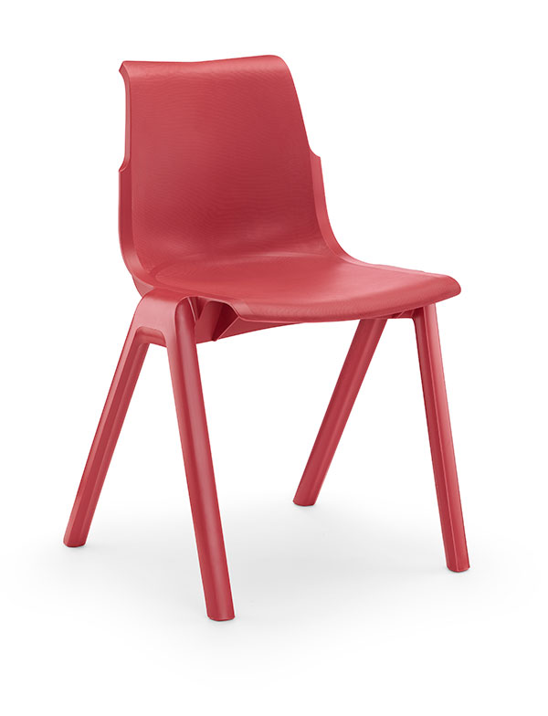 Ergostak-Red-3qtr-Front