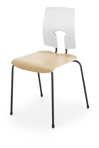 SE Classic Chair polished wood seat version