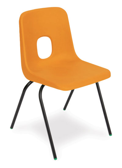 classic polypropylene classroom chair the series e from hille