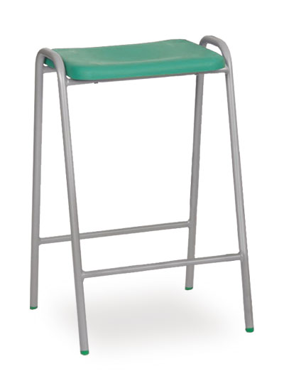 poly stool 1 emerald