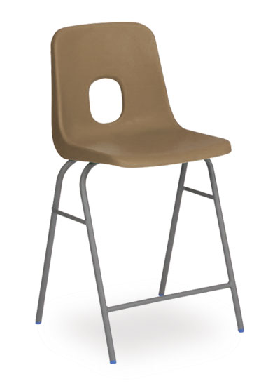series e stool brown