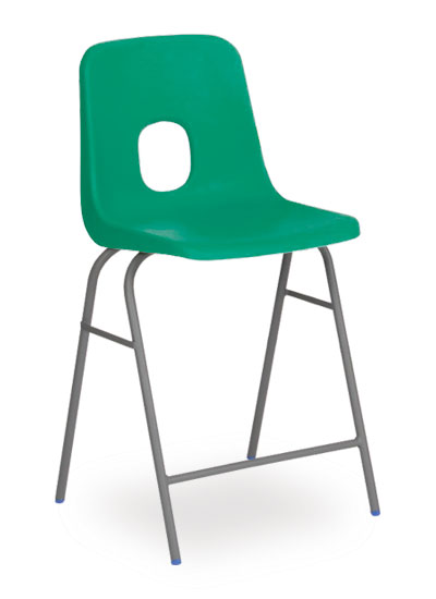 series e stool emerald