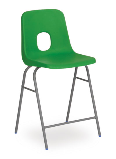 series e stool green