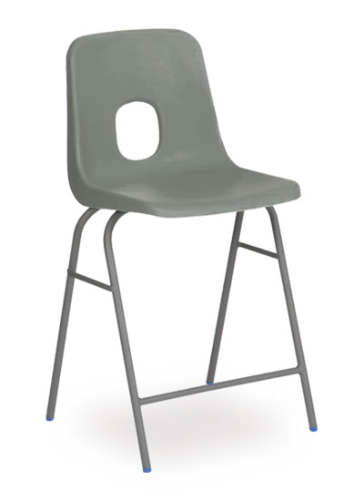 series e stool grey