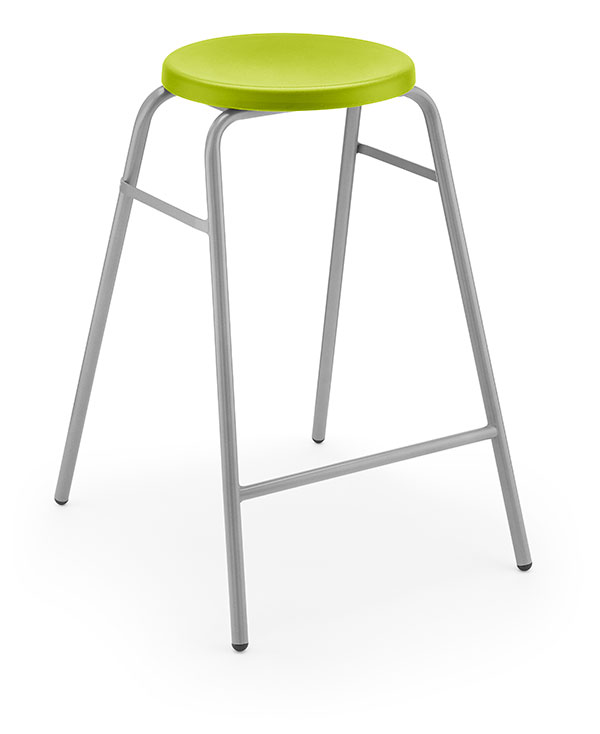 Round Top Stool 1 green