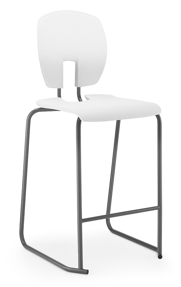 SE Curve Stool 1 white