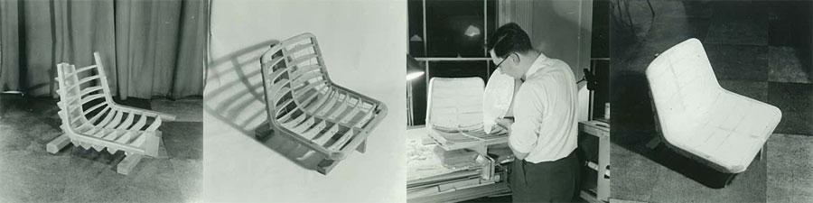 Polyside chair development