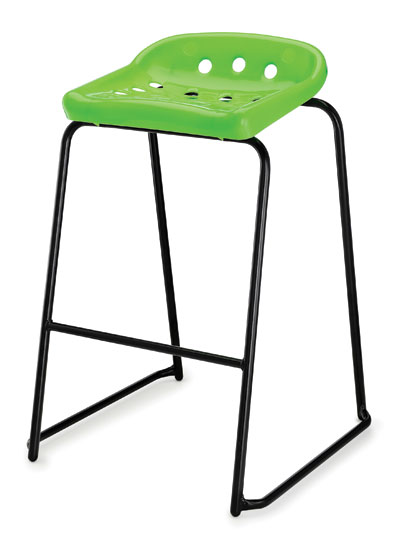 Pepperpot Stool Green