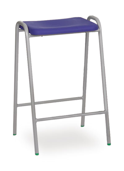 Polypropylene Flat Top Stool