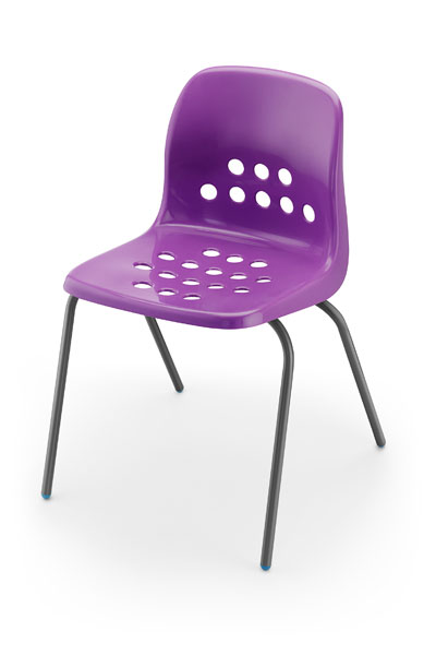 Pepperpot Chair Purple